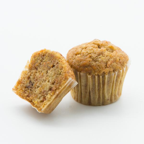 Mini-muffins cu morcov